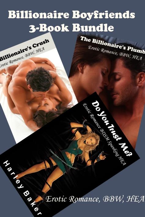 NOW ON SALE! Billionaire Boyfriends 3-Book Bundle $4.99